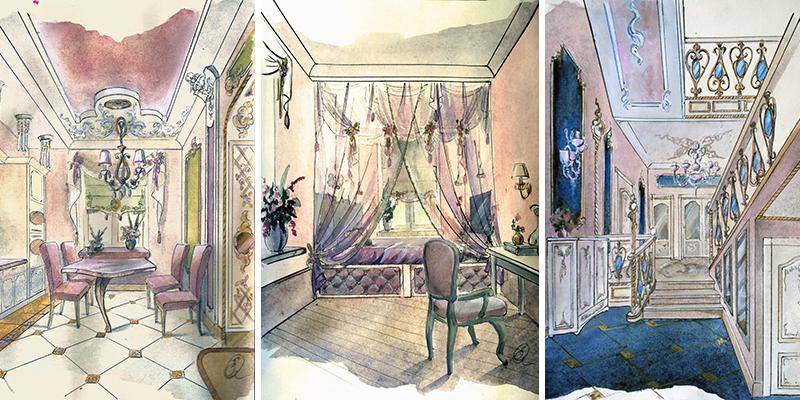 2-interiors portfolio Коттеджный поселок Шишкино