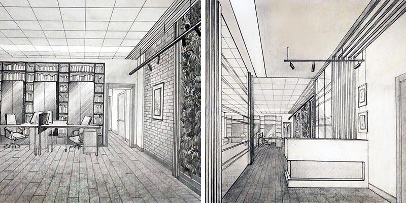 E2-interiors portfolio Офис в Петровском переулке