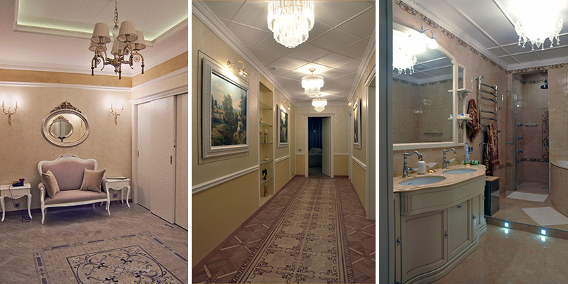 E2-interiors portfolio ТСЖ Белый лебедь